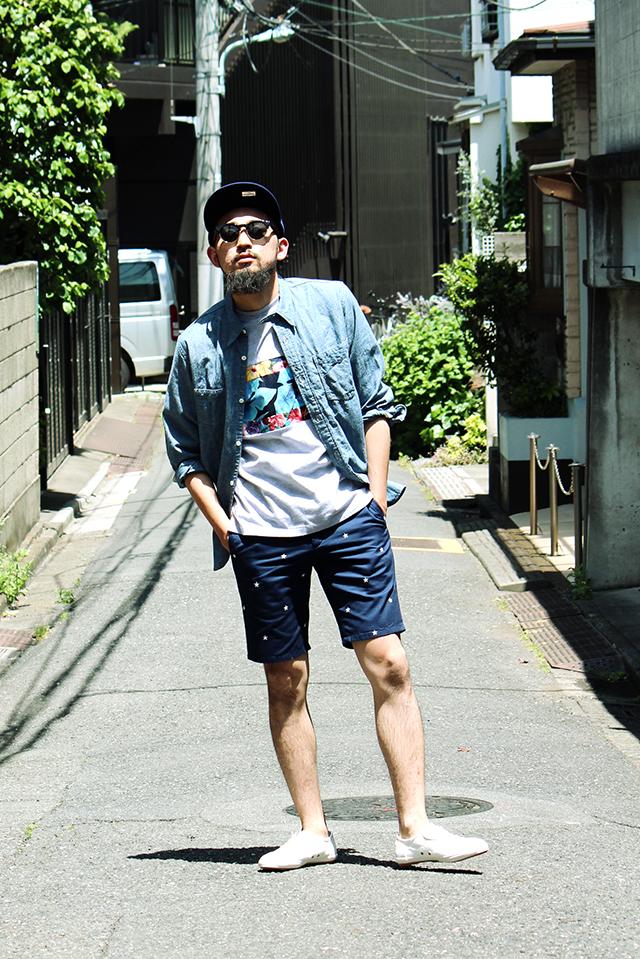 mvp greenangle ga menswear shortpants shorts グリーンアングル