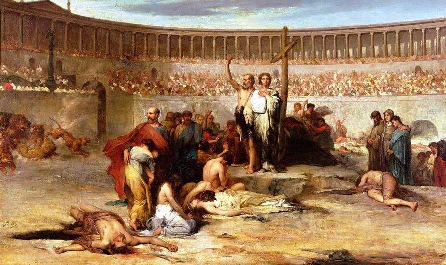 In the early 4th century, intense persecution broke out against the Christians under the Roman emperor Diocletian.
