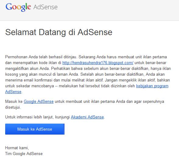 cara mendaftar google adsense