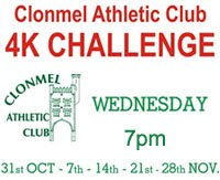 Clonmel 4k Series... Wed 31st Oct - 28th Nov 2018