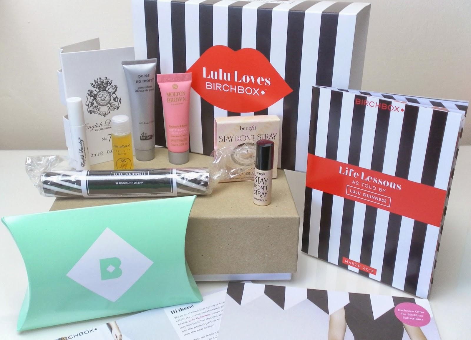 #LuluLovesBirchbox March Birchbox