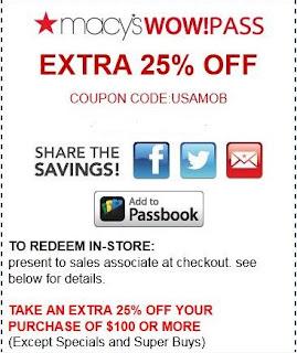 macys printable coupons