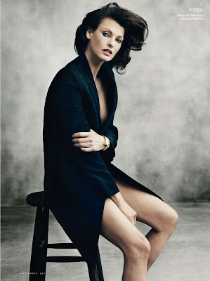 Linda Evangelista by Norman Jean Roy for Vanity Fair Spain