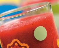 Suco de Amora com Morango e Água de Coco (vegana)