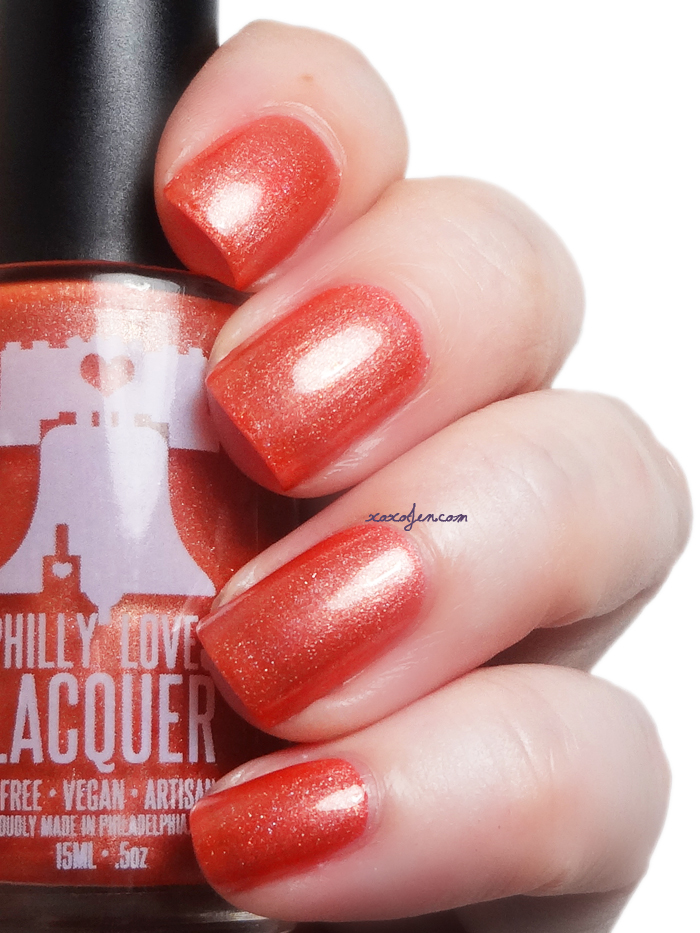 xoxoJen's swatch of Philly Loves Lacquer Taisteal Sábháilte