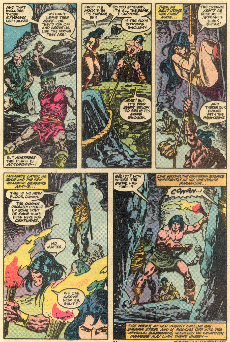 Conan the Barbarian (1970) Issue #90 #102 - English 8