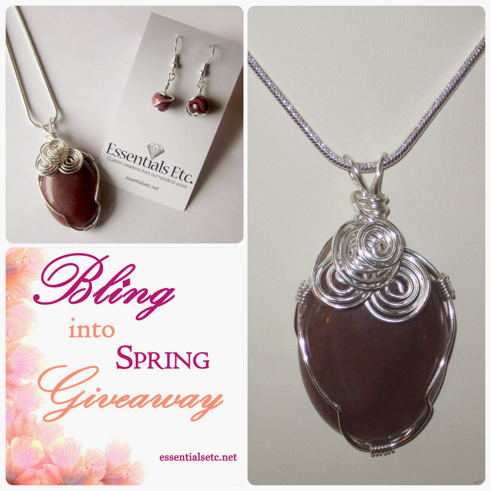 Bling into Spring Giveaway - Florence Necklace & Earring Set