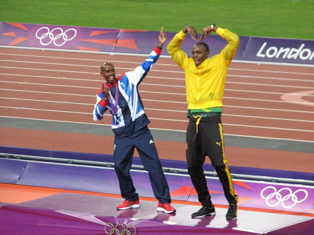 Usain Bolt vs Mo Farah. Sprinter vs Marathoner. Fast twitch vs Slow twitch muscle fibers