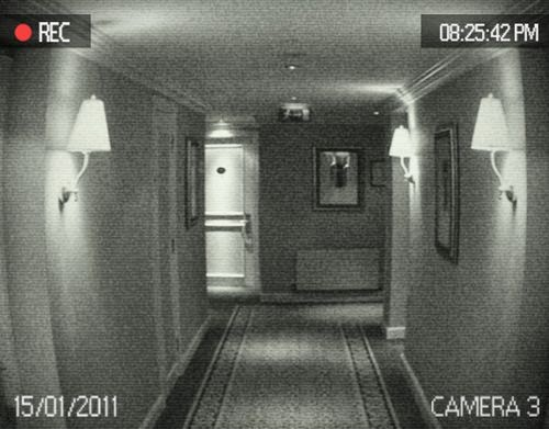 Realistic Security Camera Effect