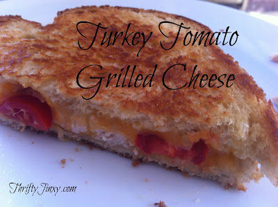 Turkey Tomato Grilled Cheese Sandwich Recipe