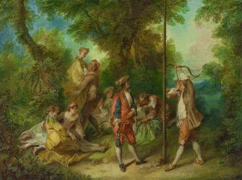 Lancret, 1730-35, The Four Ages of Man: Maturity