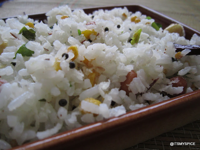 coconut rice- easy and quick coconut rice