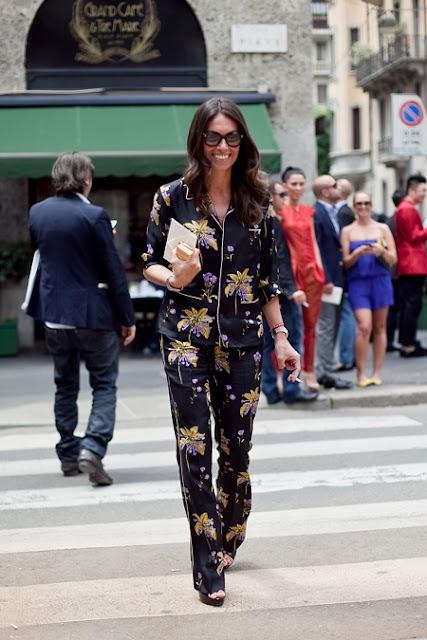Moda 2015 - Pijama Street tendências primavera-verão