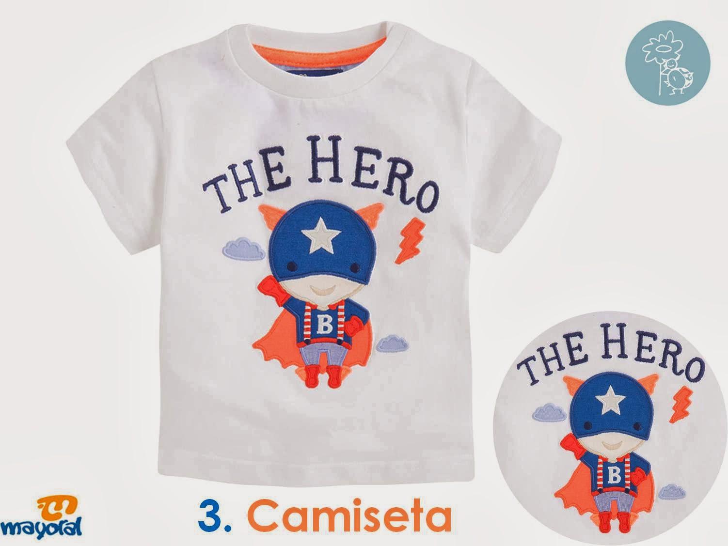 Camiseta Mayoral -The Hero- en Blog Retamal moda infantil y bebe