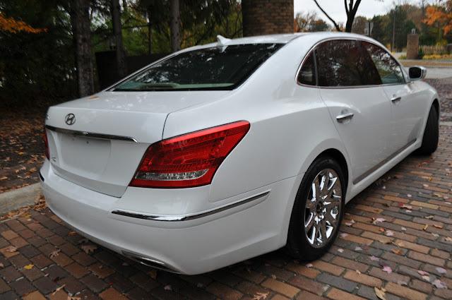Daily Turismo Comfy Chair 2011 Hyundai Equus Signature