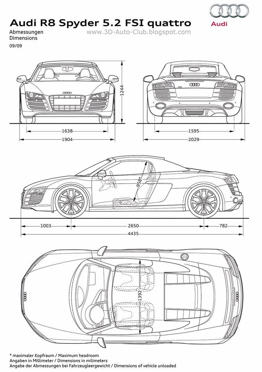 3d Auto Club: Blueprints of Cars (2010 - 2011)