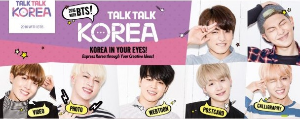 Talk Talk Korea with BTS