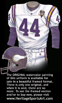 Minnesota Vikings 1995 uniform