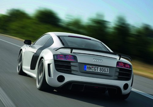 5 of 9 - 2011 Audi R8 GT Rear Pictures