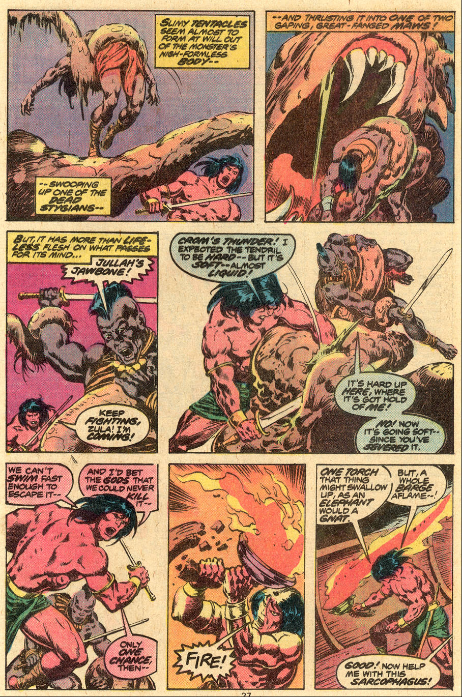 Conan the Barbarian (1970) Issue #86 #98 - English 15