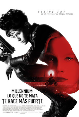 The Girl in the Spider's Web 2018 Custom HD Dual Latino Cam