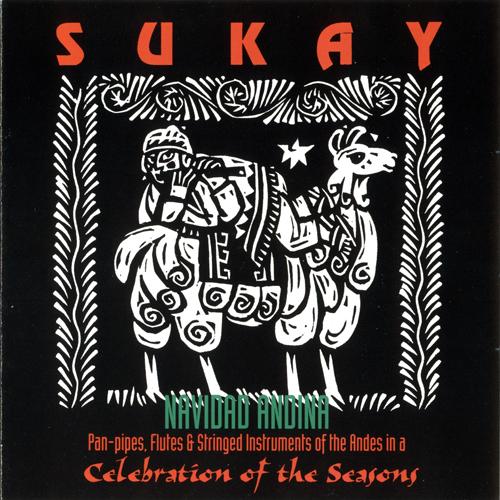 cD Navidad Andina grupo Sukay Cover