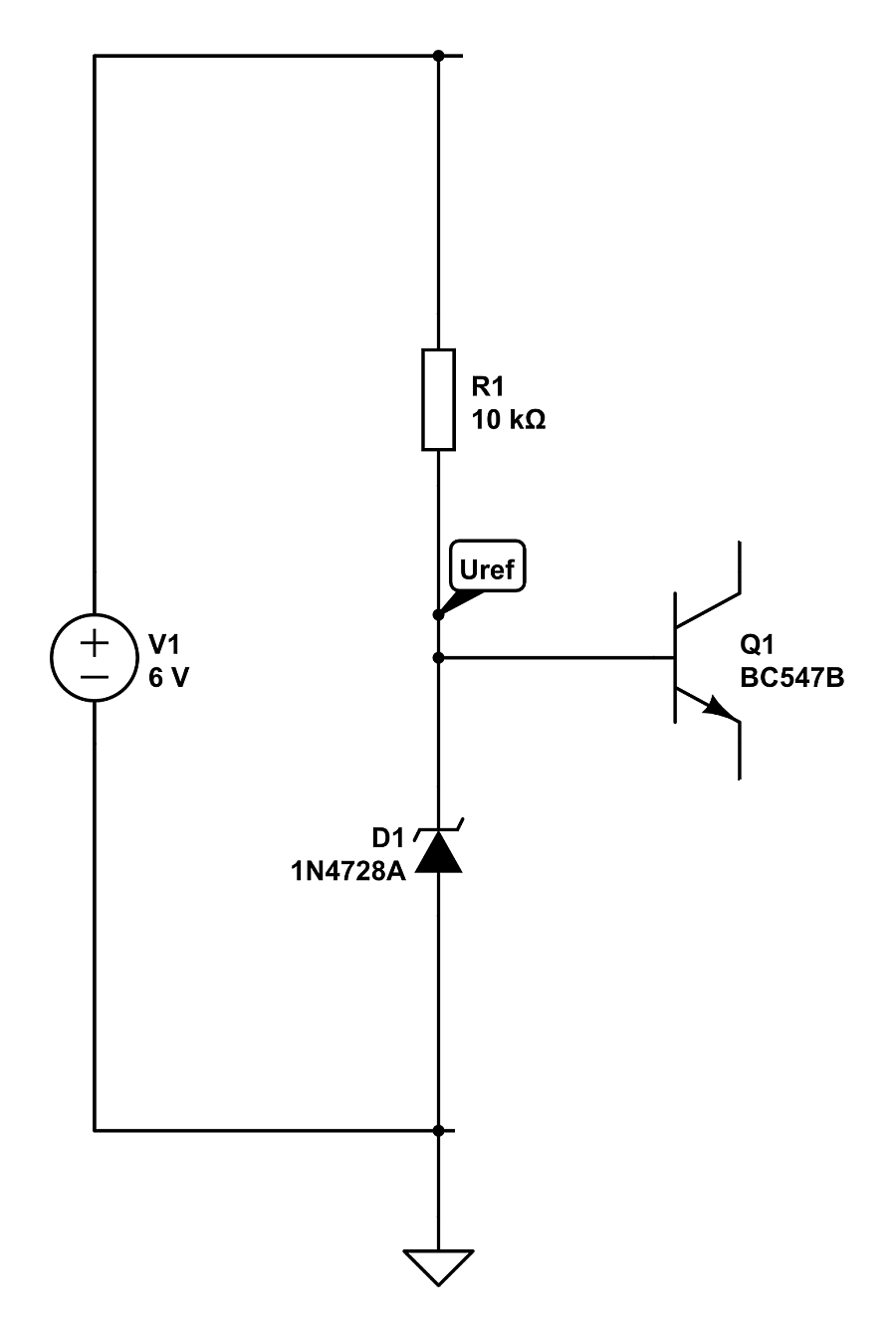 Toms projects a beginners guide to driving leds part 4 the transistor has an interesting property over its base emitter diode indicated by the little arrow in its symbol the voltage drops by about 06 volts biocorpaavc Images