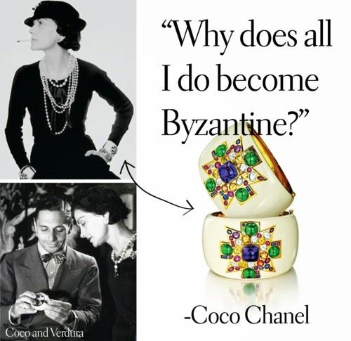 Chanel favourite Byzantinecuff