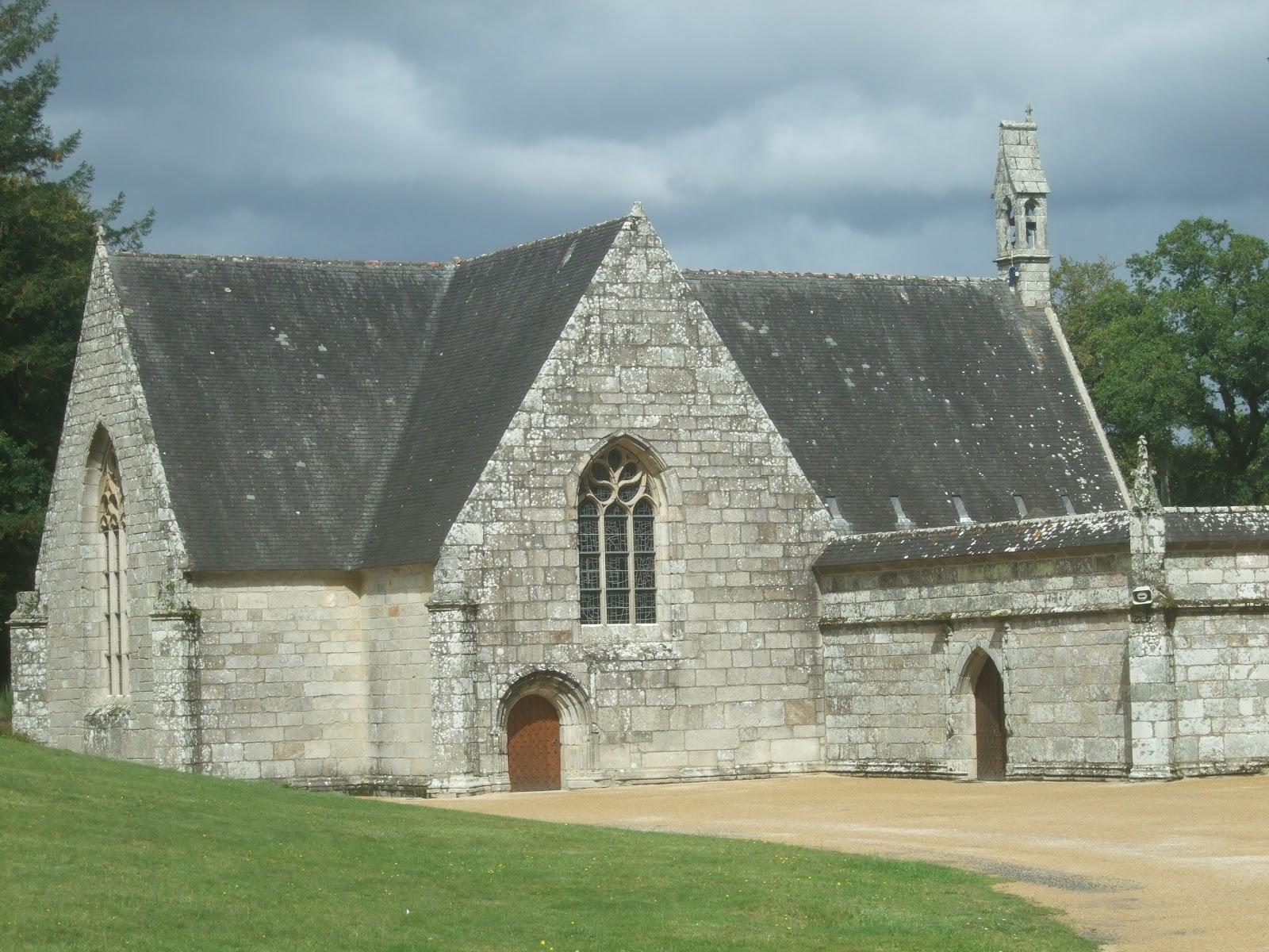 Chateau De La Chapelle Des Bois - Photos de Bretagne Ch u00e2teau de Pont Calleck et chapelle de Sainte Anne des Bois