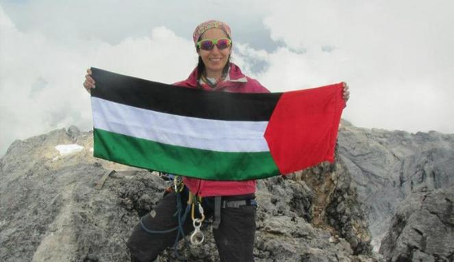Ini Dia Wanita Palestina Pertama Pendaki 16 Gunung
