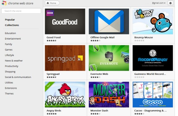 Chrome Web Store's Redesign