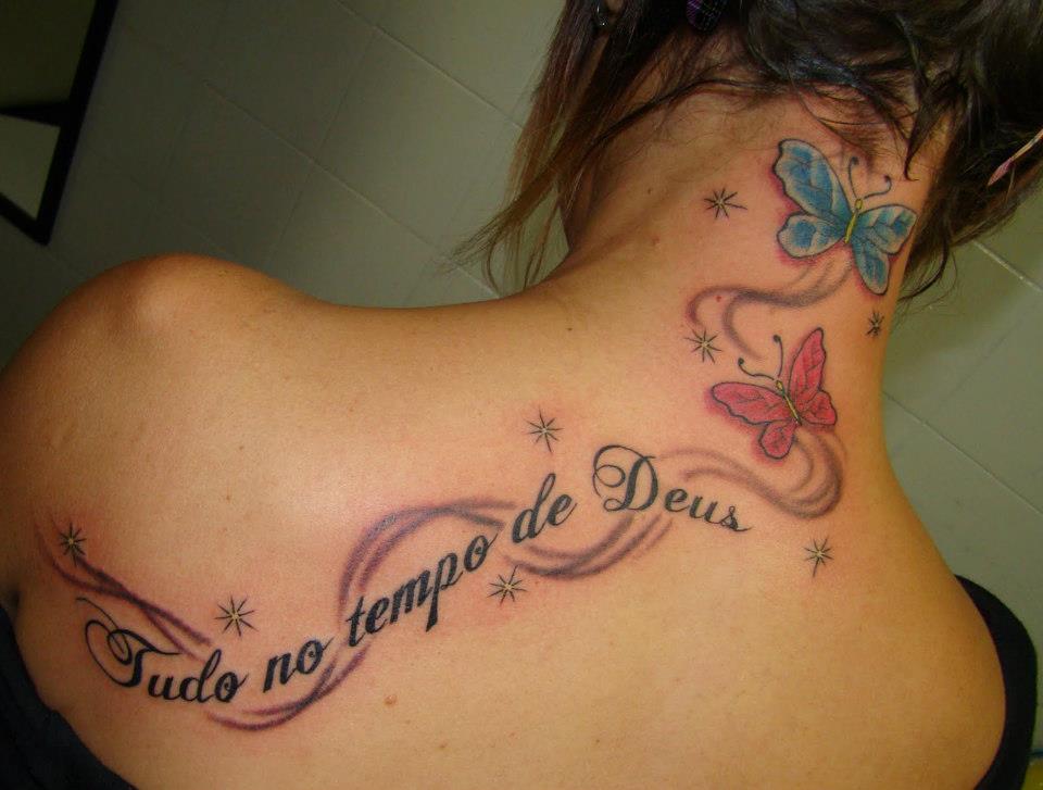 Tudo No Tempo De Deus Meninas De Tatuagens