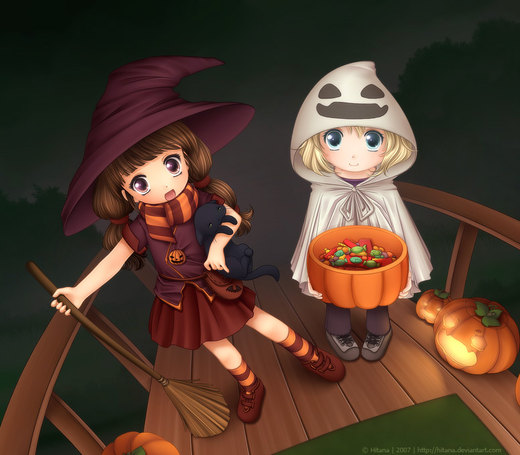 Trick or Treat por Hitana