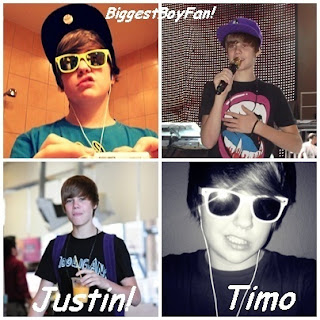 Justin Bieber and Timo