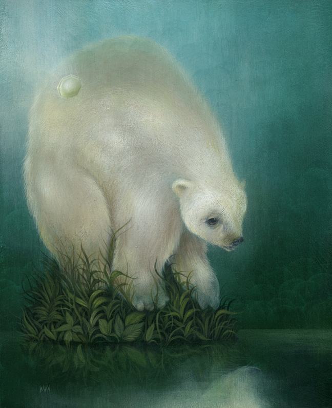 dan may weeping polar bear