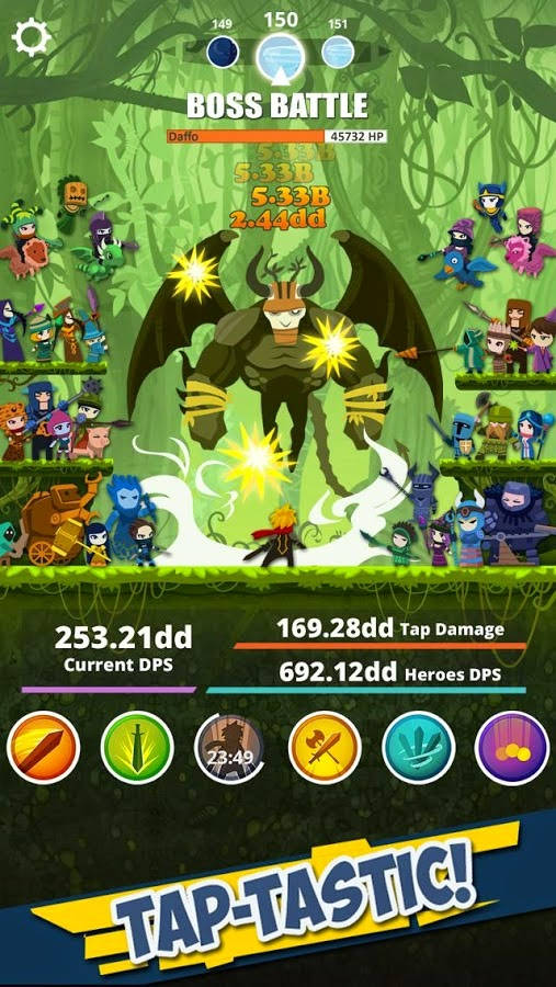 Mod Game Tap Titans v2.1.7 APK [Unlimited Money]