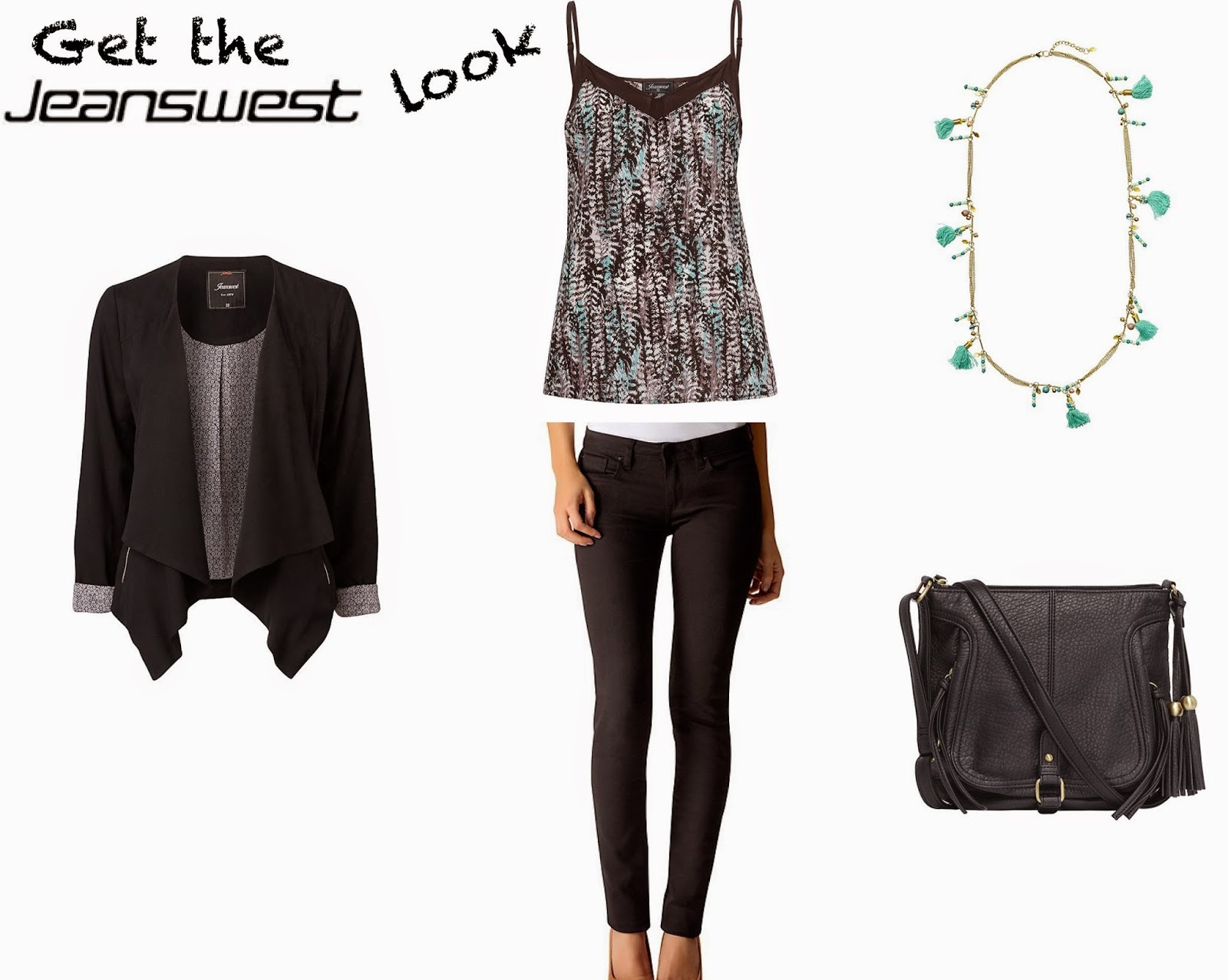 Leather jacket jeanswest