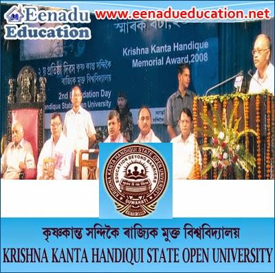 Krishna Kanta Handiqui State Open University @ Various Teaching Posts