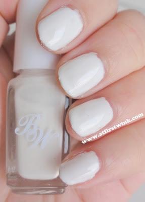 Beauty world white nail polish