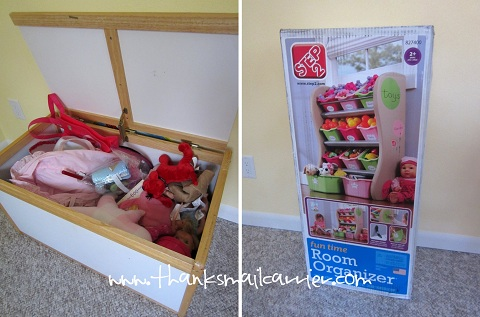 kids room organizer