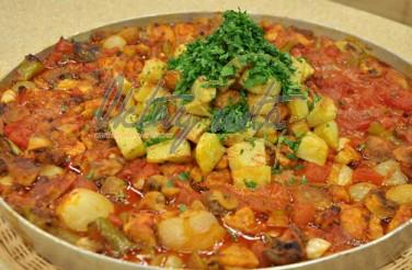 Fırında Baharatlı Tavuk Tava Tarifi