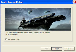 Install Carrier Command Gaea Mission