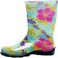Principle Plastics 5002BL10 Women's Rain And Garden Boot