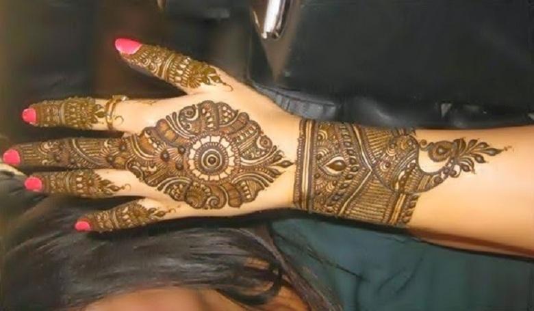 Mehndi S Free Download Mp : Bridal mehndi designs simple and elegant arabian