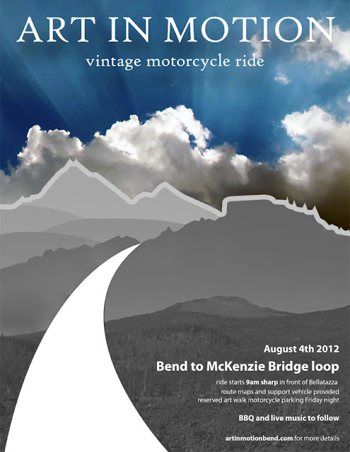 art in motion ride poster