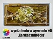 wyróżnienie:)))