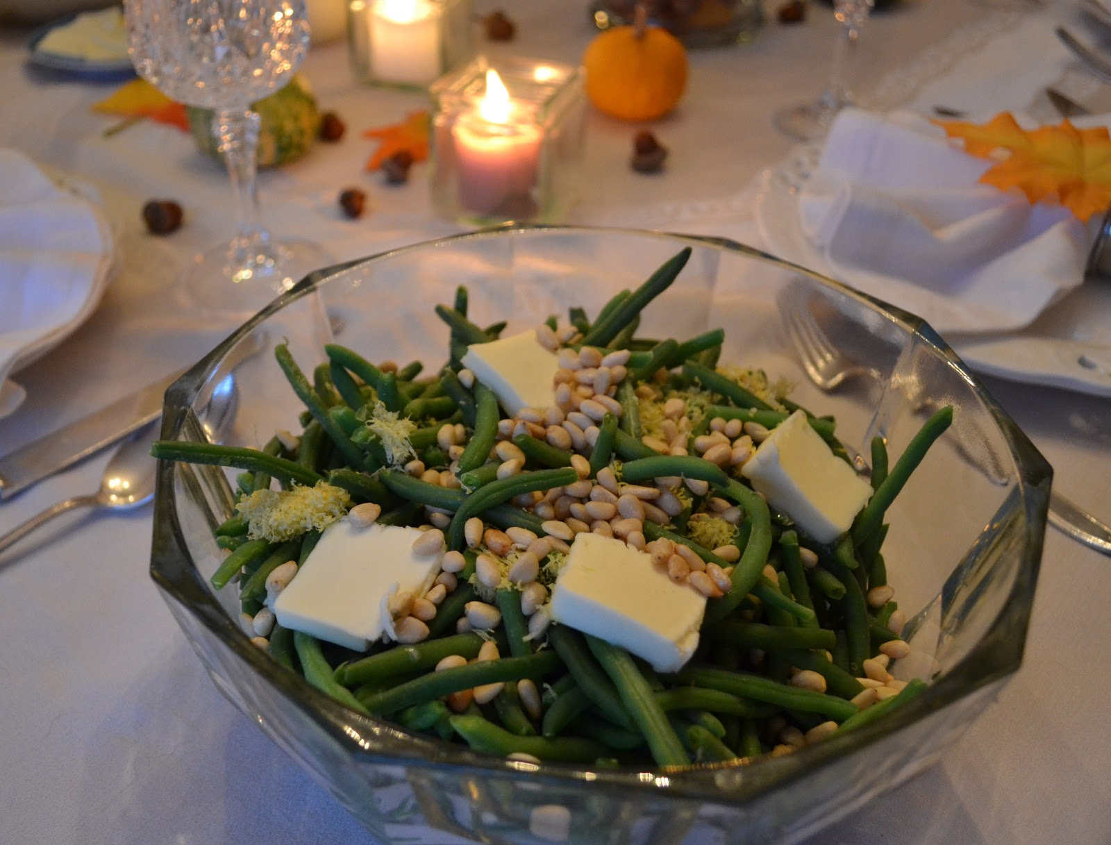 Haricot Verts with Lemon Zest and Pine Nuts