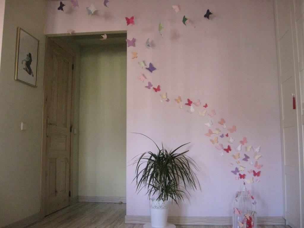 Diy x4duros 39 13 las mariposas de mis sue os de yolanda - Mariposas para pared ...