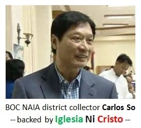 Iglesia Ni Cristo and the Corruption in Bureau of Customs