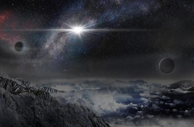 Supernova desde un exoplaneta